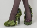 botanical shoes, Françoise Weeks