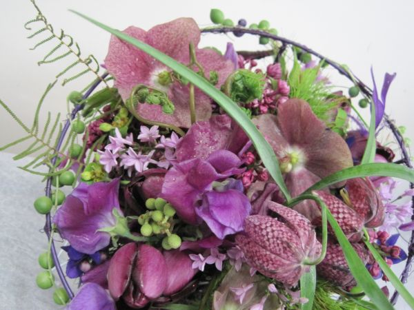 whimsical bouquet with fritillaria, Françoise Weeks
