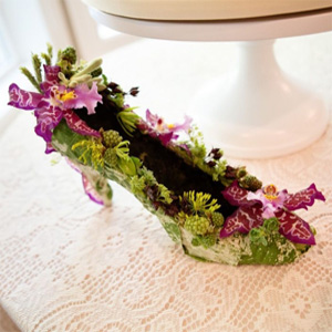 botanical shoe, Françoise Weeks