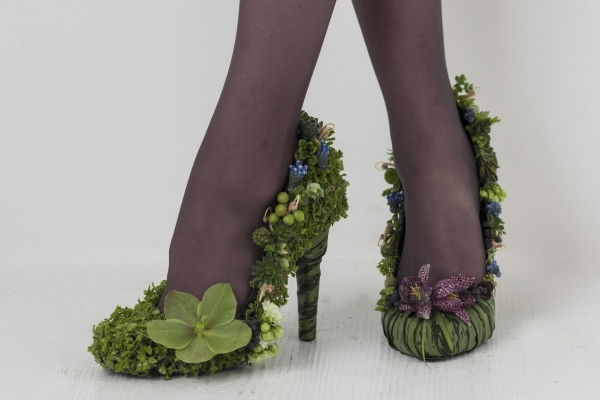 botanical shoes Francoise Weeks- photo Ted Mishima