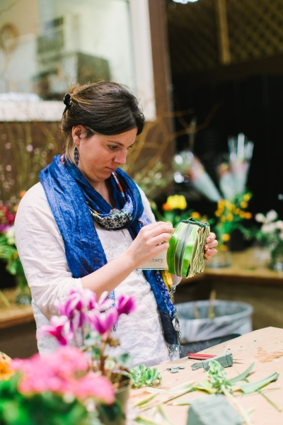 botanical couture workshop in Vermont, Françoise Weeks