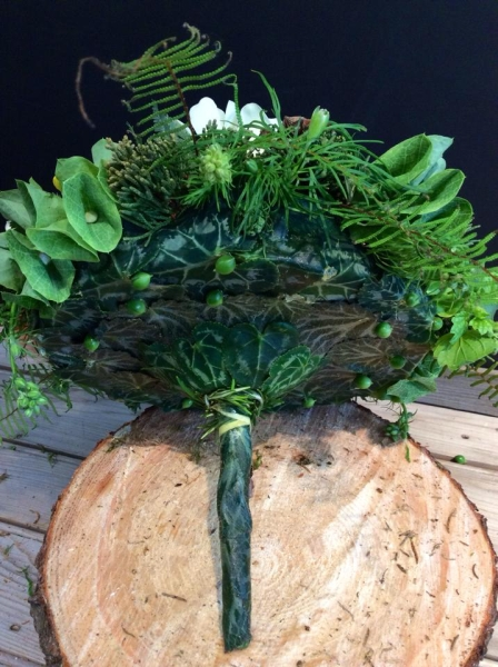 woodland bouquet  designed by Sheila Dever 1, wedding workshop Vermont, Francoise Weeks