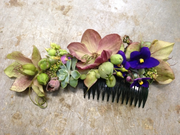 botanical hairpiece -, Françoise Weeks