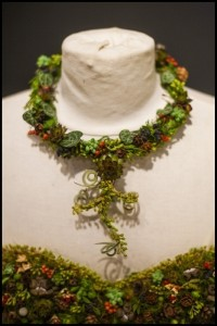 botanical necklace for Divine Design Boutique, Francoise Weeks