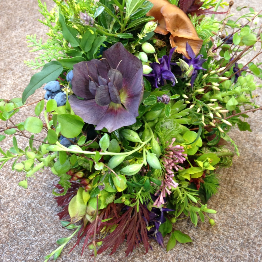woodland bouquet demo at Thive May 2015