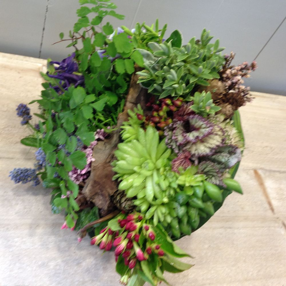 woodland bouquet - design by Sue - - workshop in Bury St Edmunds, England, Francoise Weeks