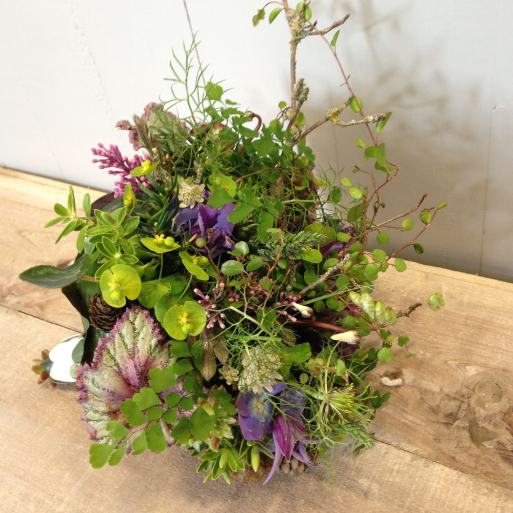 woodland bouquet - design by studen1t - workshop in Bury St Edmunds, England, Francoise Weeks