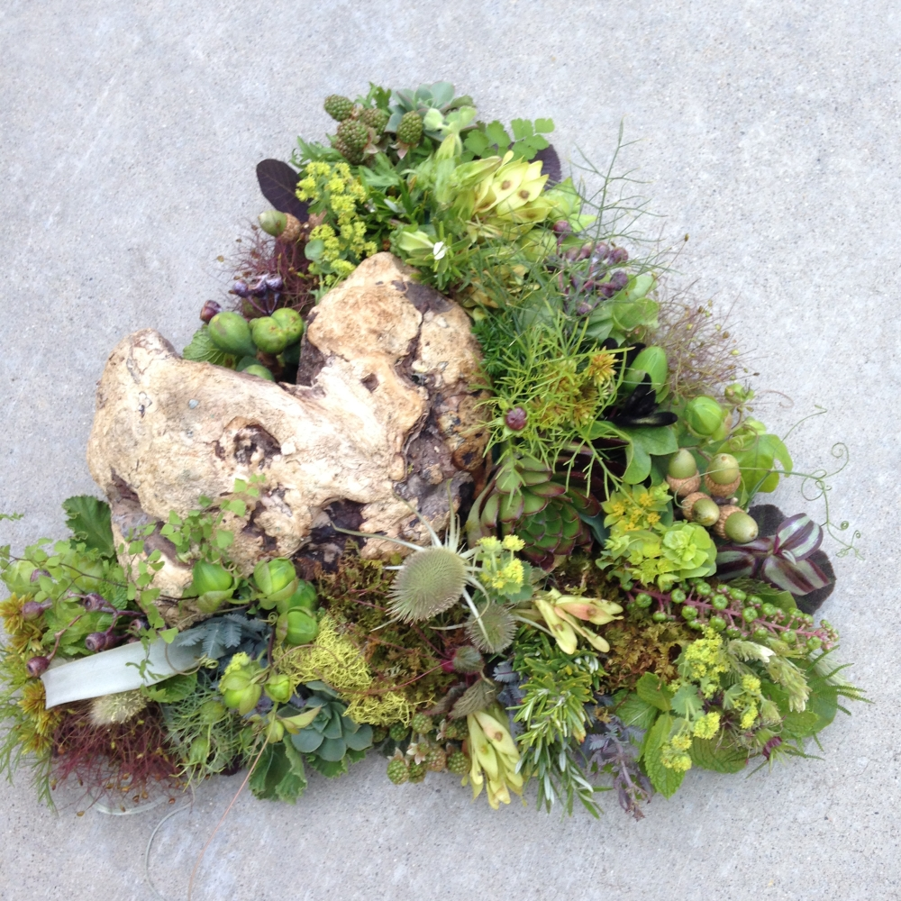 woodland centerpiece, Francoise Weeks