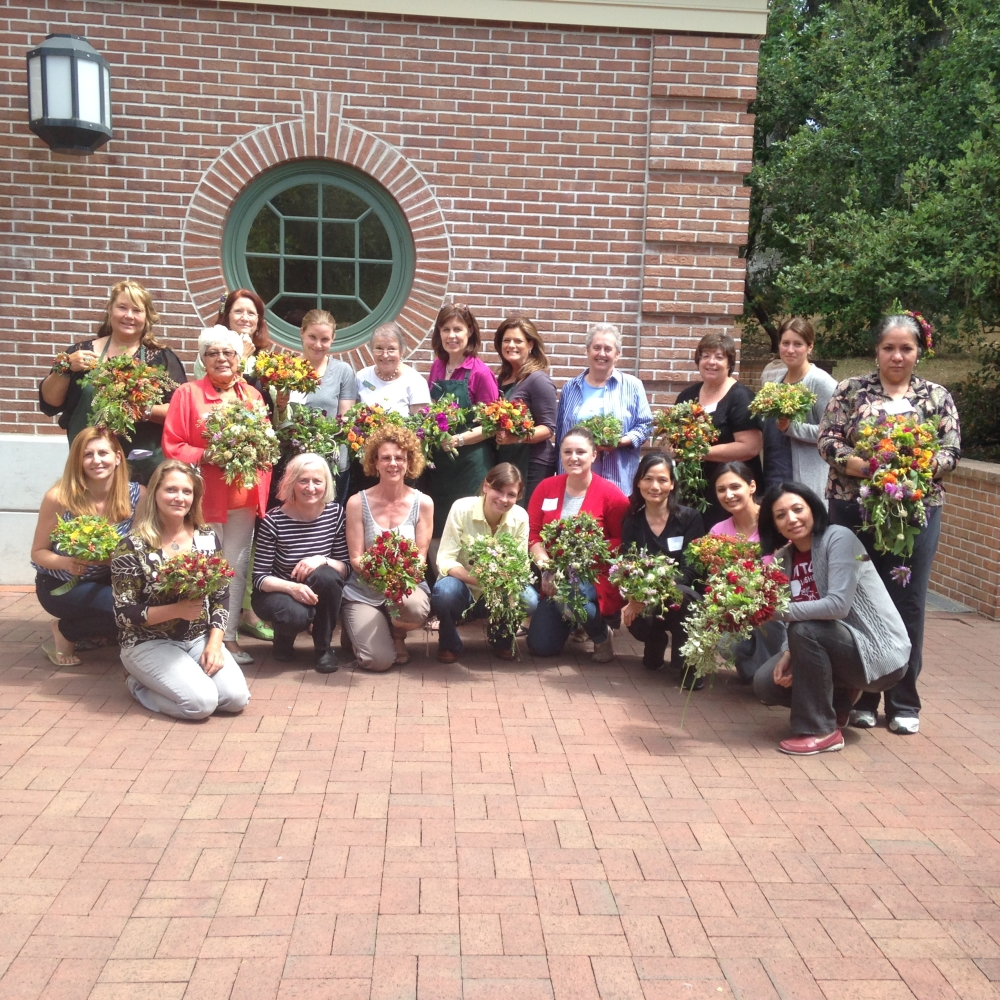 workshop at Filoli in June 2015