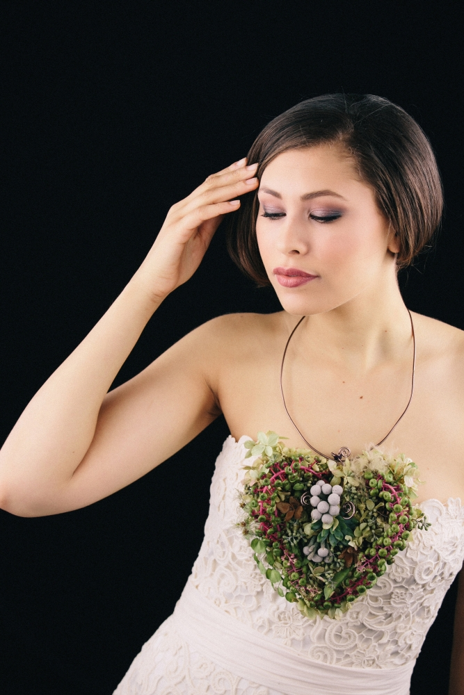 botanical necklace1 designed by student at workshop in Detroit, October 2015