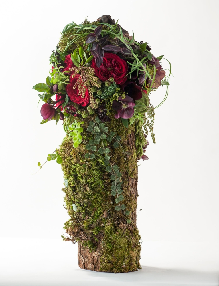 woodland design with David Austin Roses, Francoise Weeks