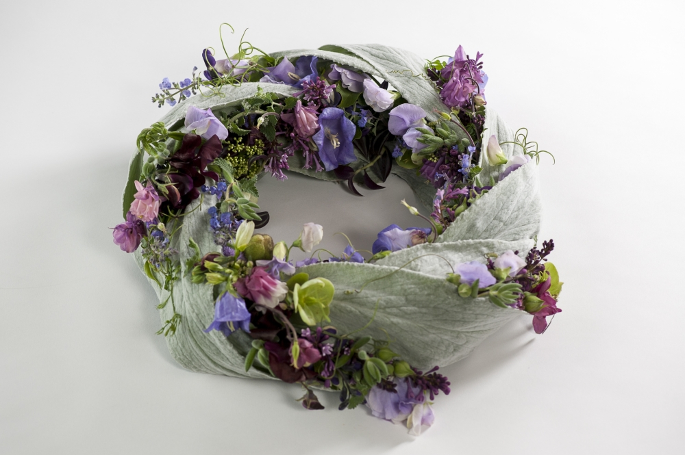 wreath, Francoise Weeks