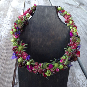botanical necklace 2, Francoise Weeks