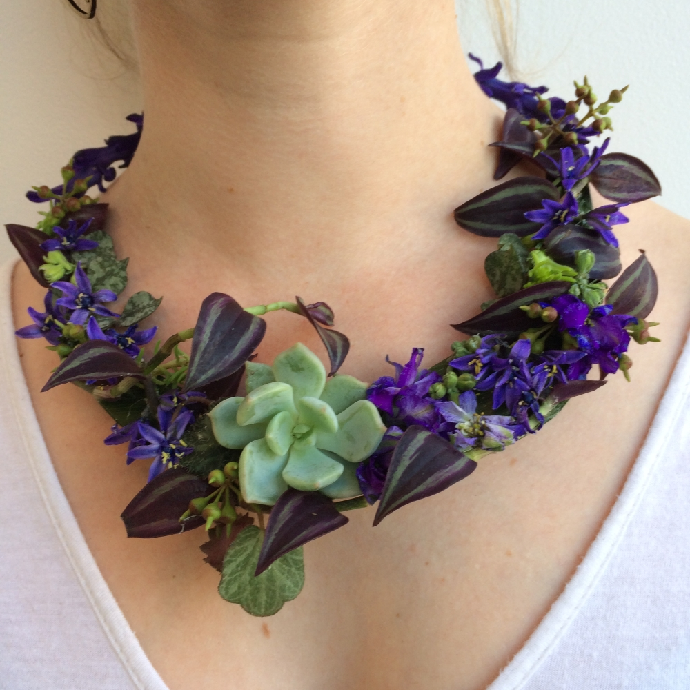 botanical necklace 4, Francoise Weeks