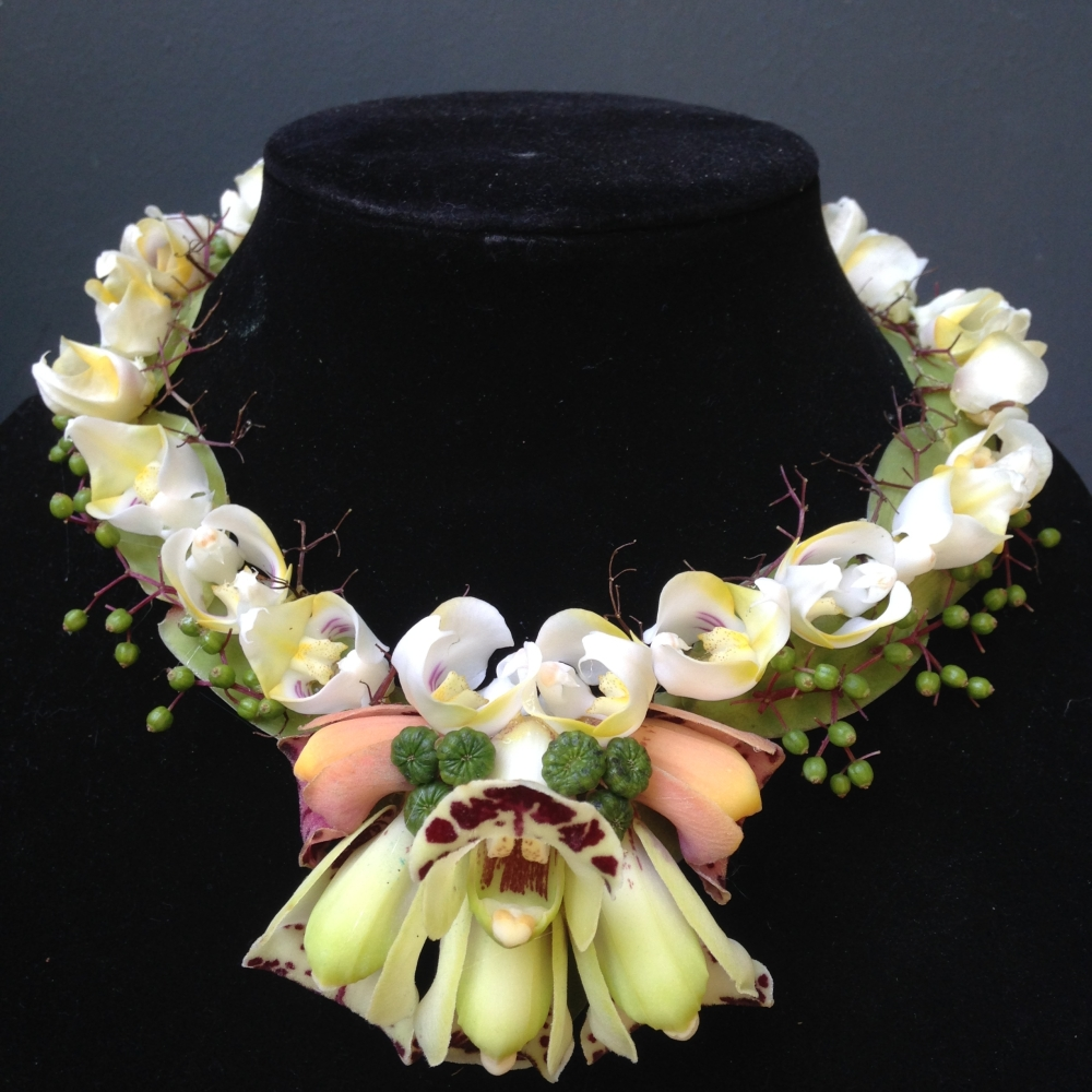 botanical necklace 6, Francoise Weeks