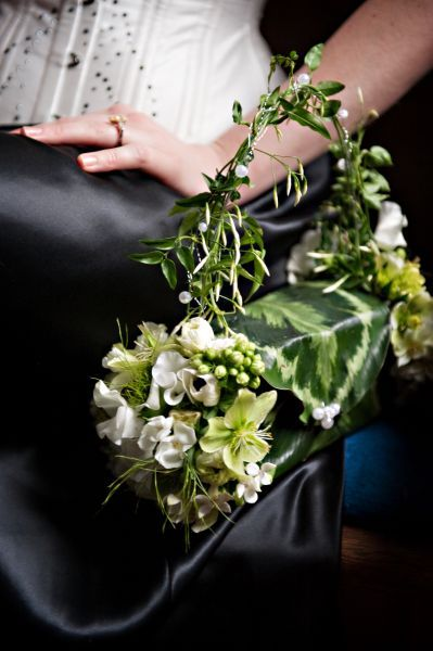 flower purse with hellebore, Françoise Weeks